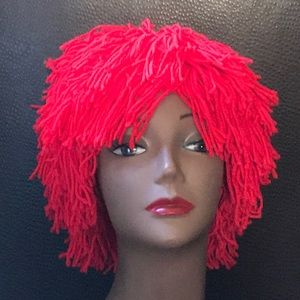 Rubis's Red Rag Doll Wig